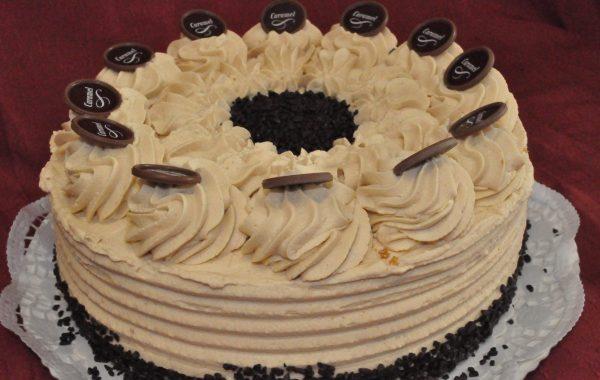 Caramel-Sahne-Torte