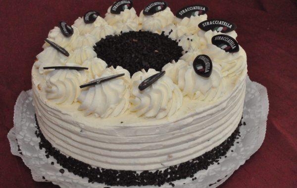 Stracciatella Sahne Torte