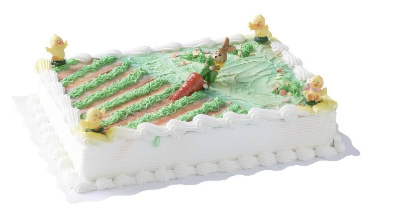 Osterhasen Torte mit Möhre