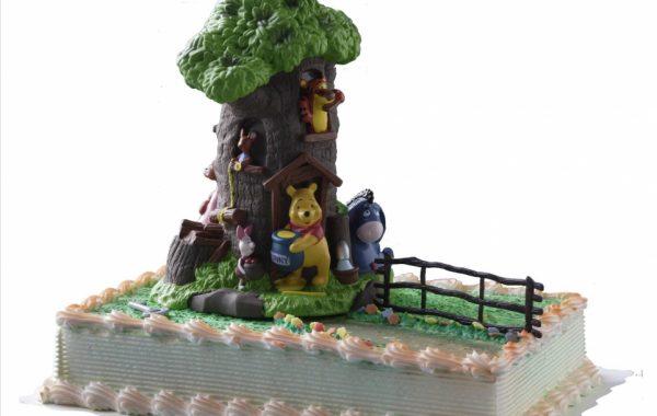 Winnie Pooh mit Freunde Torte